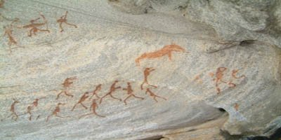 Rock art photo by Andrew moir